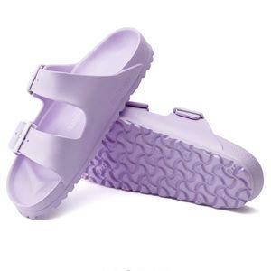 Birkenstock Shoes - Birkenstock Eva lilac sandals 39 8 Narrow